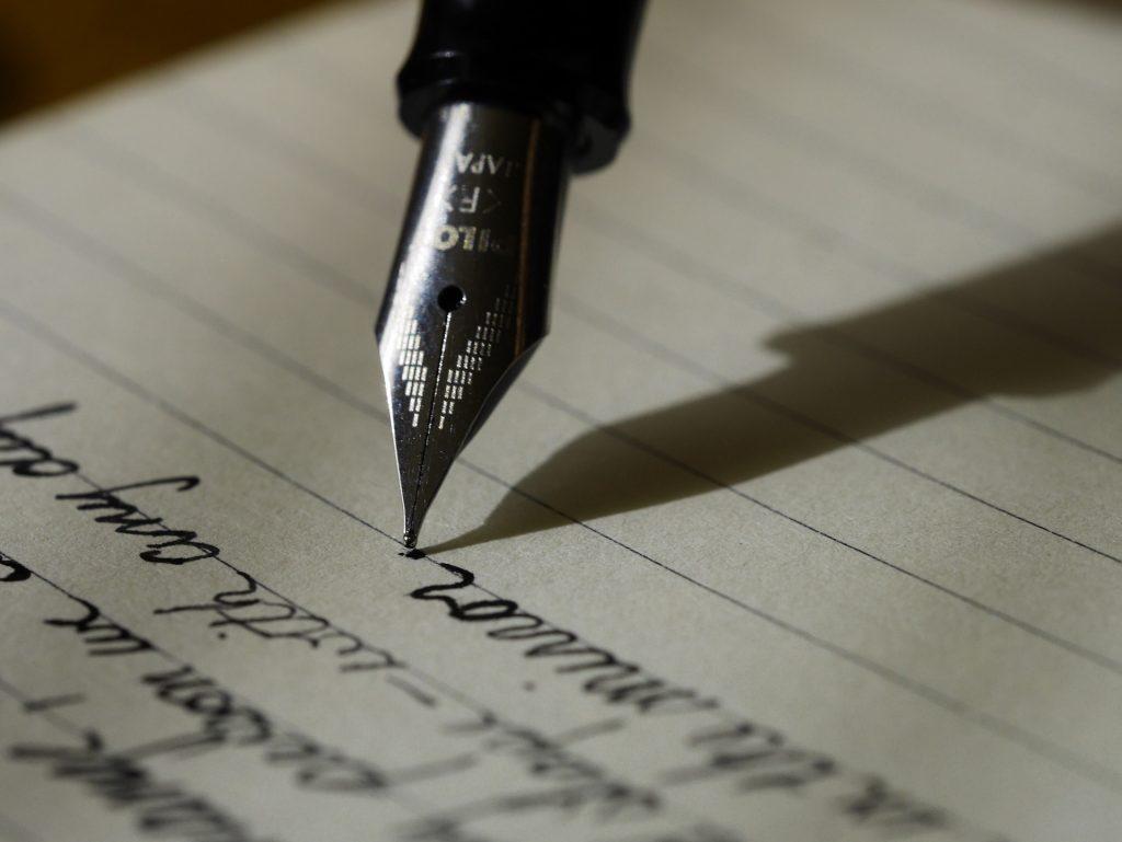 An image of a script